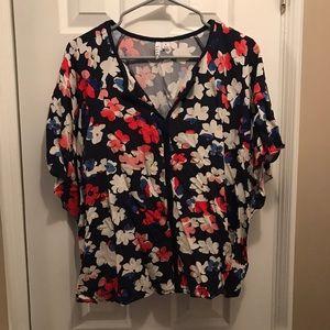 Flowy floral top